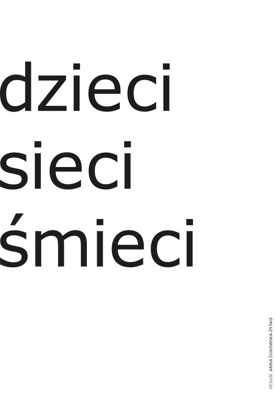 Projekt plakatu na konkurs: Tworzymy bezpieczny internet. Anna Żukowska-Żyśko. Wyróżnienie.