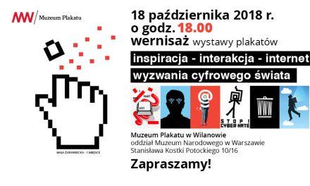 Wernisaż wystawy plakatów: 18.10. o 18.00 – zapraszamy!